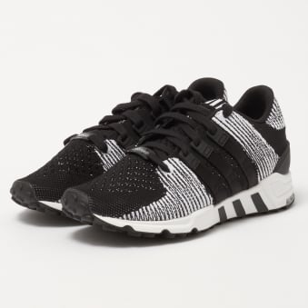 EQT Support RF Primeknit - Core Black & FTW White