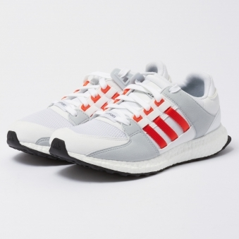EQT Support Ultra - Running White & Bold Orange