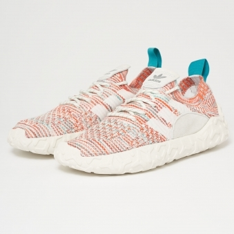 F/22 Primeknit - Trace Orange, Crystal White & FTWR White