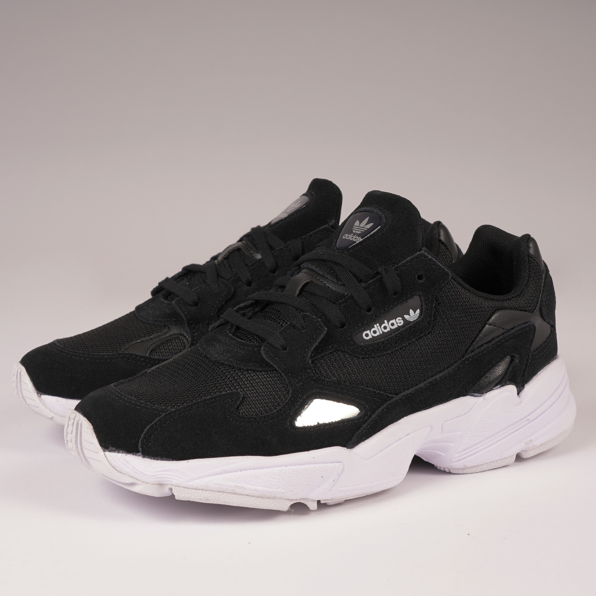 Adidas Originals Womens Falcon - Core Black & FTWR White