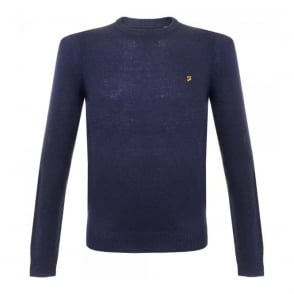 Farah Rosecroft Navy Jumper FEFG0124