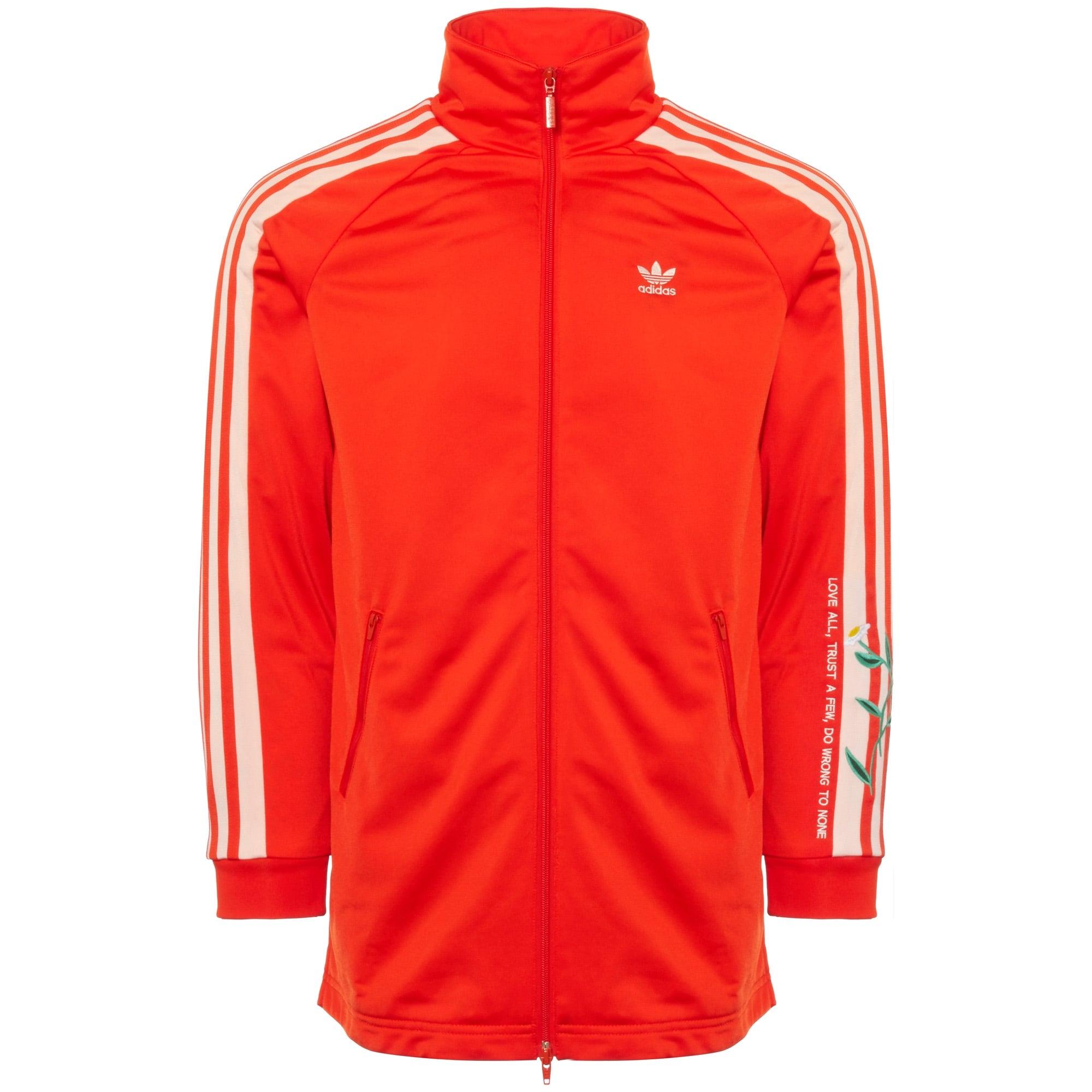 f3cb7326091b Fashion Long Women Track Jacket - Bold Orange