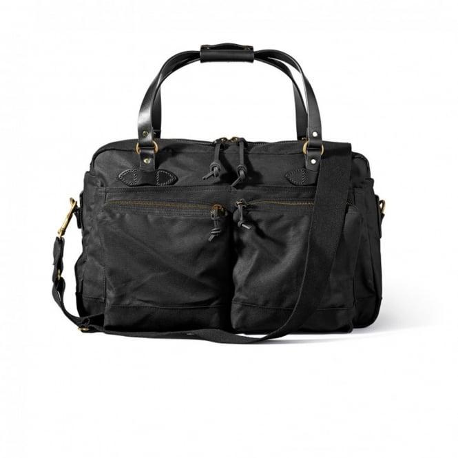 Filson Filson 48 Hour Black Duffle Bag 11070328