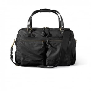 Filson 48 Hour Black Duffle Bag 11070328