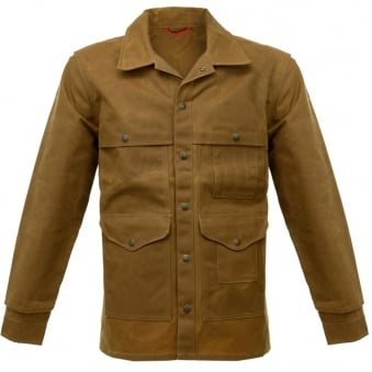 Filson Oil Tin Cloth Tan Cruiser Waxed Jacket 10408242103