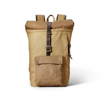 Filson Roll-Top Tan Backpack 11070388