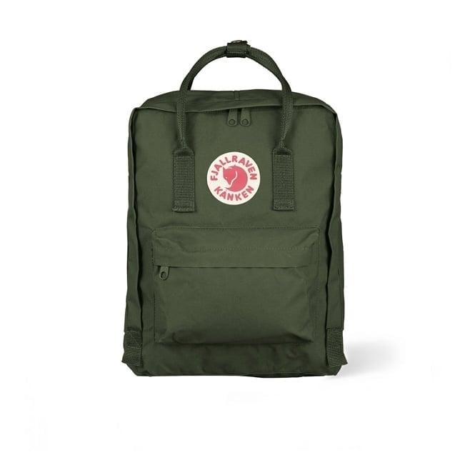 Fjallraven Kanken Forest Green Backpack 23510 660