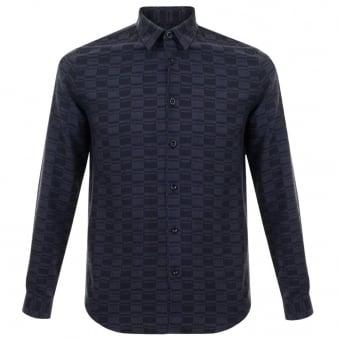 Folk Fog Navy Blue Shirt F2667S