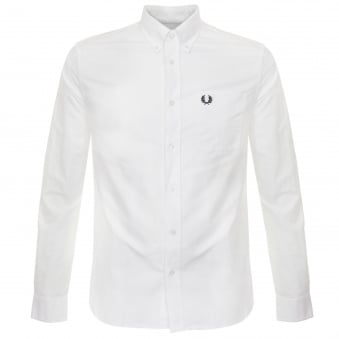 Fred Perry Classic Oxford White Shirt M9546 100