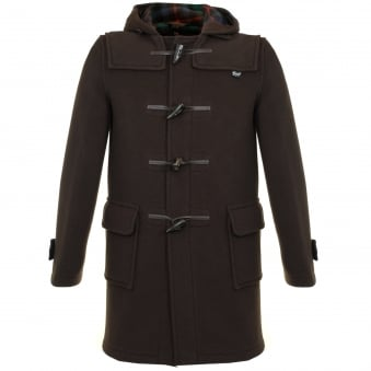 Gloverall Morris Brown Duffle Coat MC3512