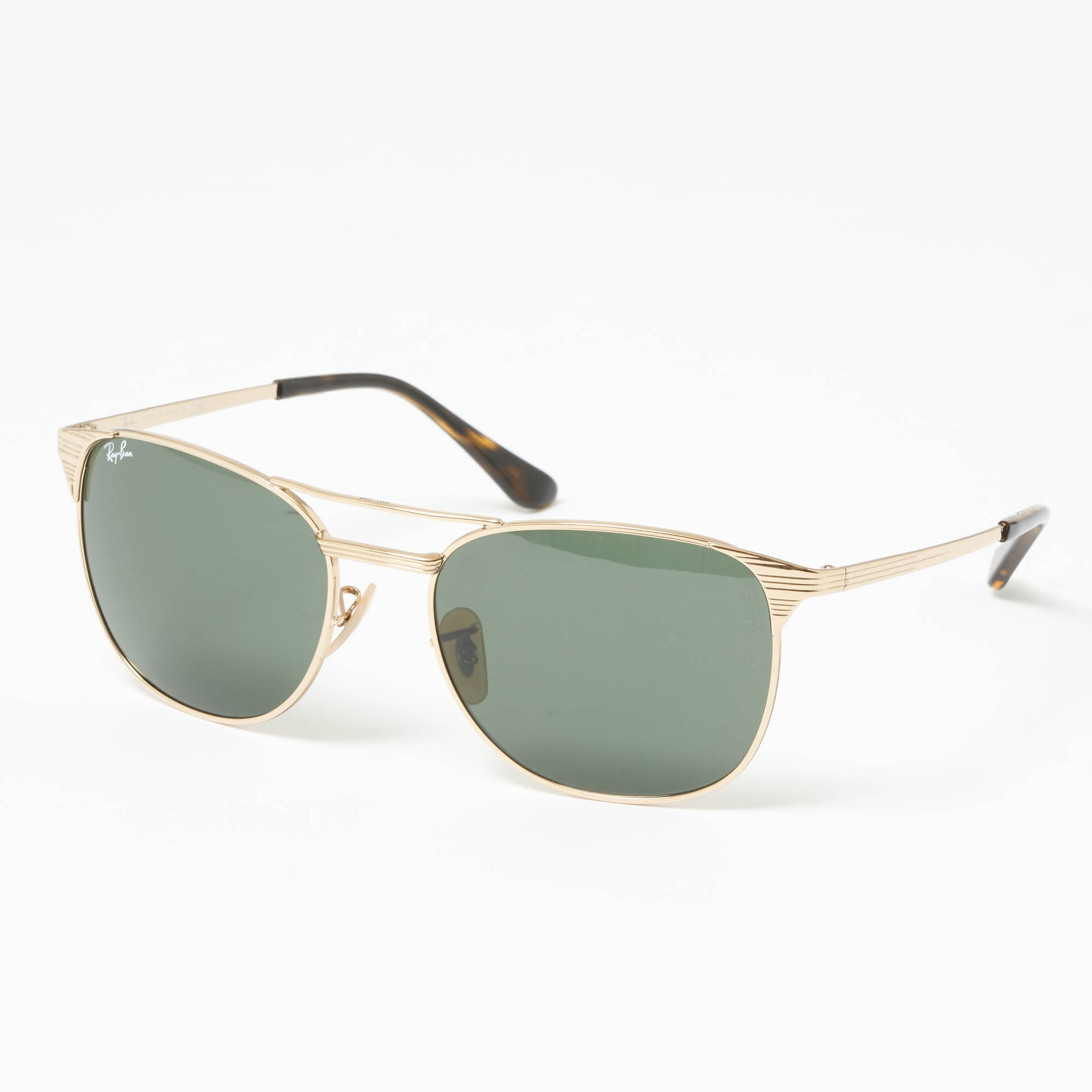 551b2e211e Gold Signet Sunglasses - Green Classic G-15 Lenses