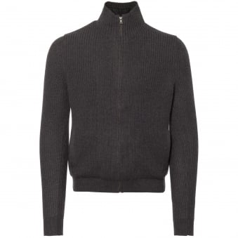 Graphite Panelled Jumper
