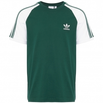 Green 3-Stripes Tee