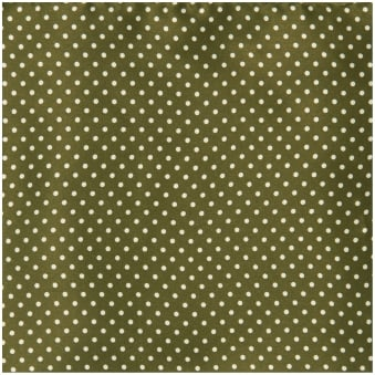 Green Pin Dot Silk Pocket Square