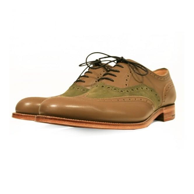Grenson X Stuarts London G Lab Caribou Brogue Shoe