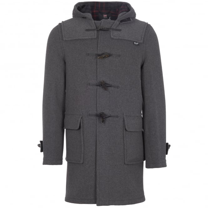 Gloverall Grey Morris Duffle Coat