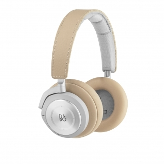 H9i Active Noise Cancelling Wireless Over-Ear Headphones - Natural