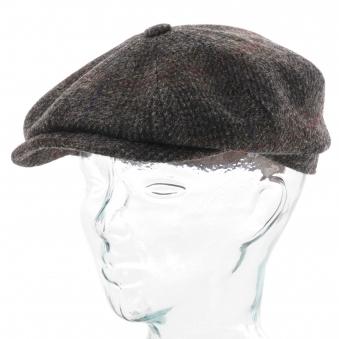 eecdf798d41677 Harris Tweed Flat Cap - Grey Check. Stetson Hats ...