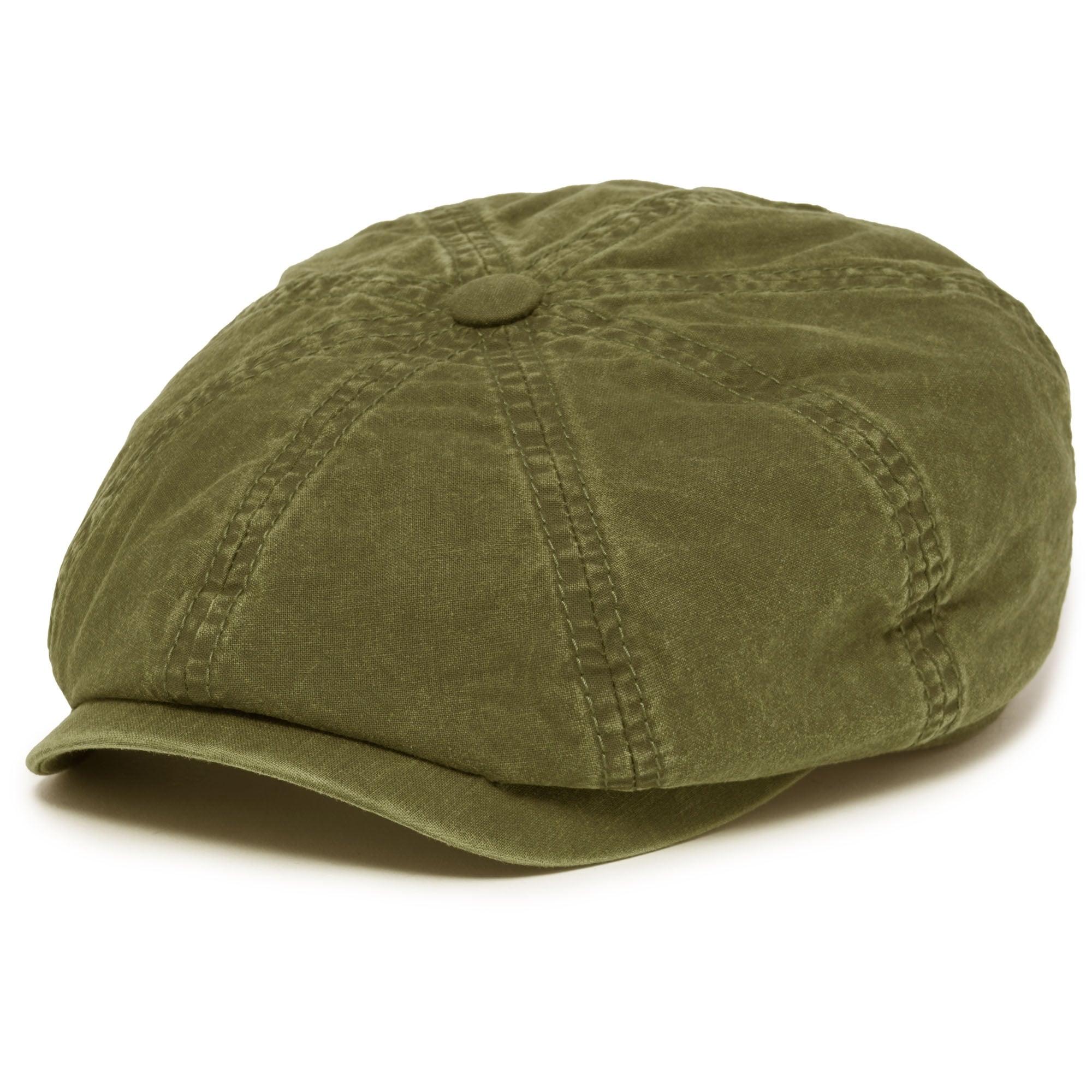658665ee5ad28 Hatteras Delave Cotton Flat Cap- Khaki