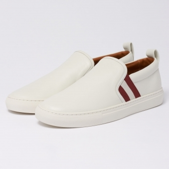 Herald Slip On Trainers - White