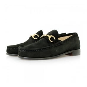 Horatio Beaufoy Black Suede Shoes BLS1005