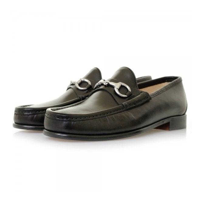 Horatio Horation Beaufoy Black Leather Shoes BLK1002