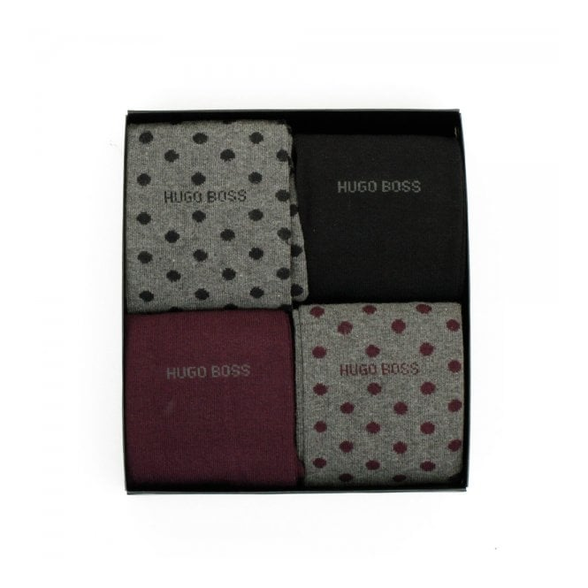 BOSS Hugo Boss Hugo Boss 4 Pack Design Box Socks 50299901