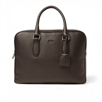 Hugo Boss Black Briefcase Gardo Dark Brown 50297559 201