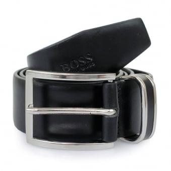 Hugo Boss Black Froppin Leather Belt 50151746 001