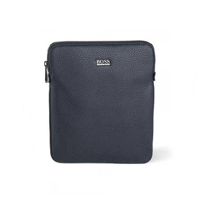 BOSS Hugo Boss Hugo Boss Black Gotio Leather Shoulder Bag Navy 50297609 401