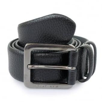 Hugo Boss Black Leather Belt Cesen 50299663 001
