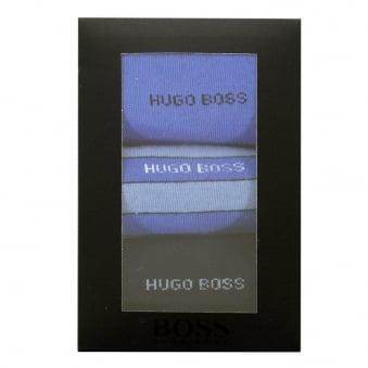 Hugo Boss Black S 3P Design Box Triple Pack Dark Blue Socks 50288231