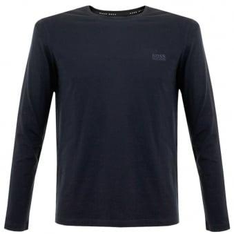Hugo Boss Black Shirt RN LS Navy T-Shirt 50297317