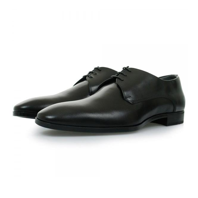 BOSS Hugo Boss Hugo Boss Black Urbat Black Leather Shoes 50298455
