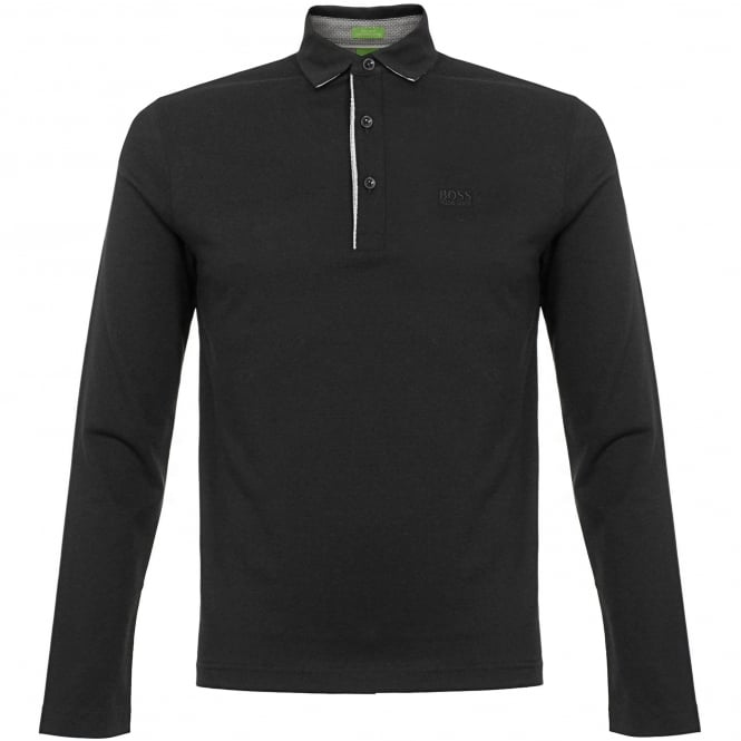 Boss Green Hugo Boss C-Tivoli 1 Black Polo Shirt 50326314