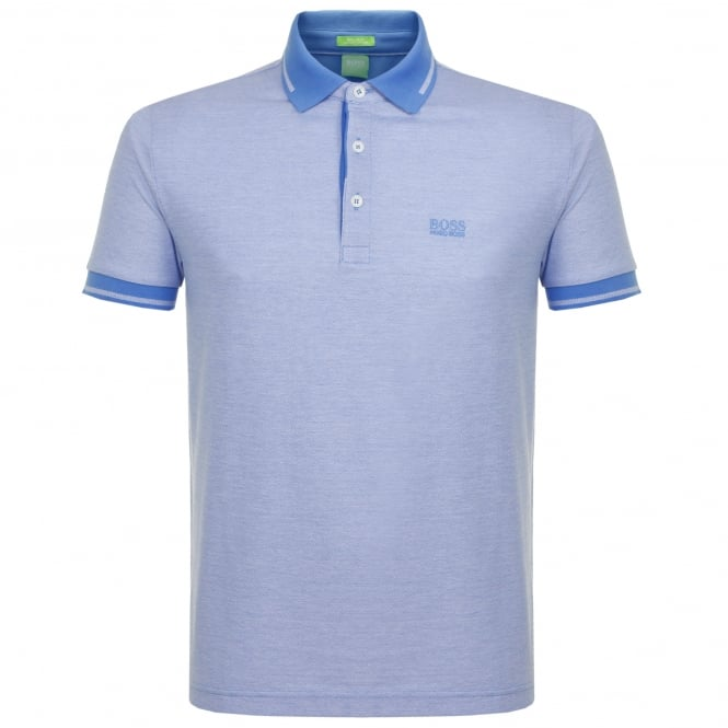 Boss Green Hugo Boss C-Vito Blue Polo Shirt 50330945