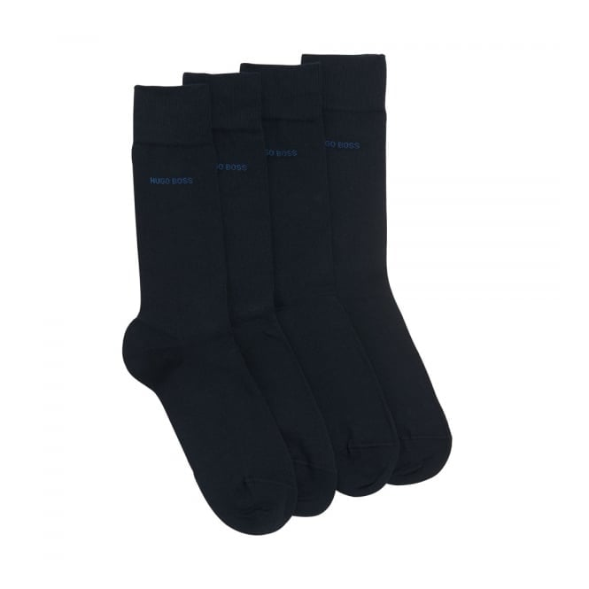 BOSS Hugo Boss Hugo Boss Double Pack Dark Blue Socks 50272214