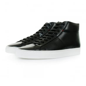 Hugo Boss Fucomid Black Hi Top Shoes 50298476