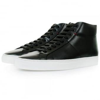 Hugo Boss Fucomid Black Hi Top Shoes 50298476