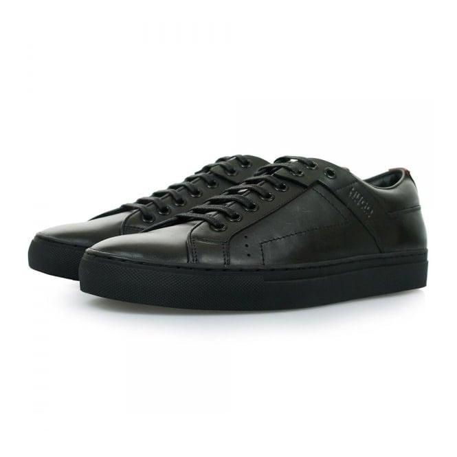 Hugo by Hugo Boss Hugo Boss Futesio Black Leather Shoe 50238501