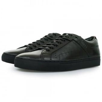 Hugo Boss Futesio Black Leather Shoe 50238501