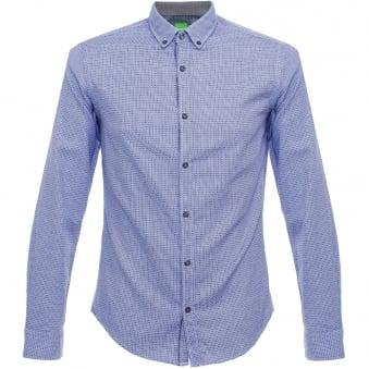 Hugo Boss Green C-Baldasar Navy Shirt 50320146