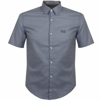 Hugo Boss Green C-Busterino Navy Shirt 50330845
