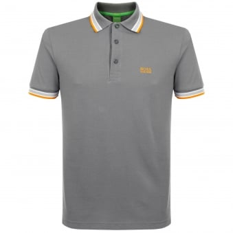Hugo Boss Green Medium Grey Polo Shirt 50302557