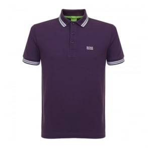 Hugo Boss Green Paddy Dark Purple Polo Shirt 50302557