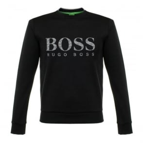 Hugo Boss Green Salbo Black Sweatshirt 50312753