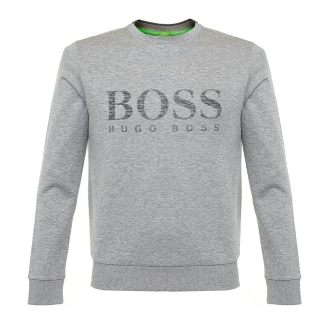 Boss Green Hugo Boss Green Salbo Light Grey Sweatshirt 50312753