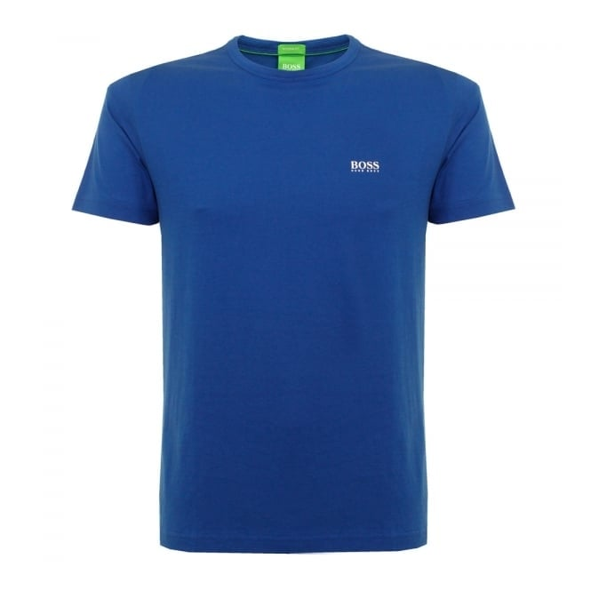 Boss Green Hugo Tee Blue T-Shirt 50245195