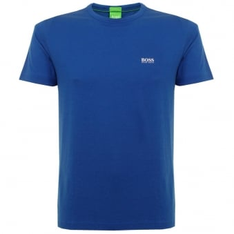 Hugo Boss Green Tee Blue T-Shirt 50245195