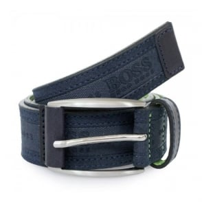 Hugo Boss Green Testio Navy Belt 50292387